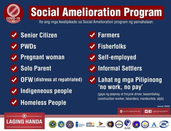 How to avail of DSWD's Social Amelioration Package for those affected by the COVID-19 health crisis