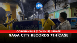Naga City records 7th case after more than half a month without new cases